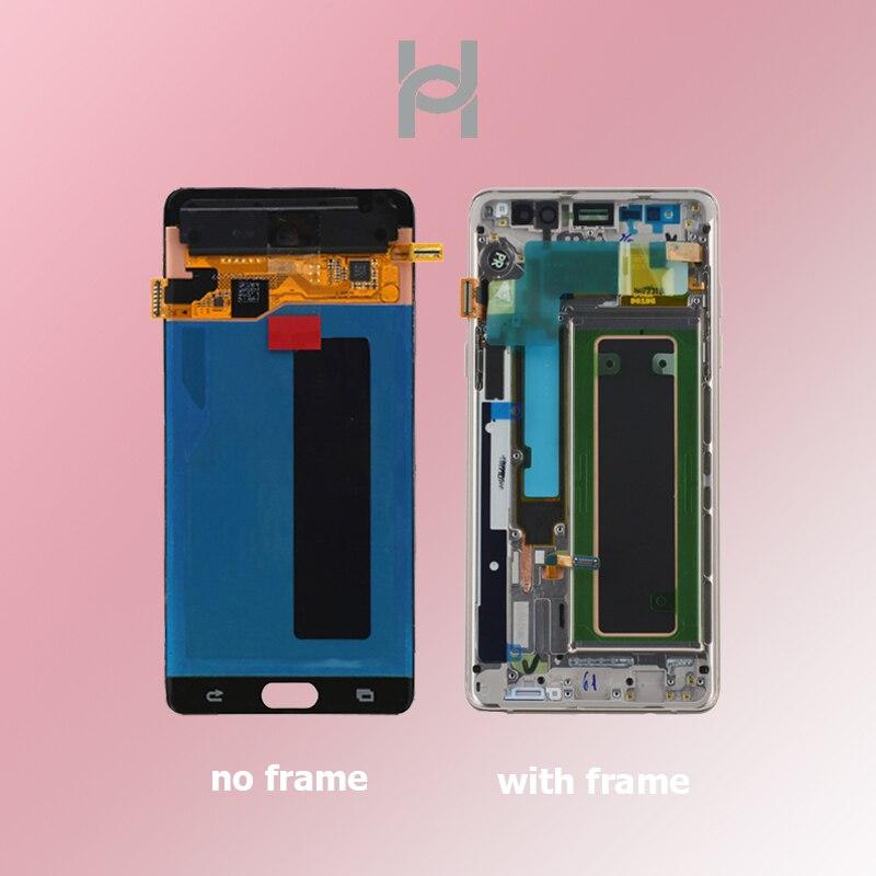 AMOLED Original pour Samsung Galaxy Note7 FE N930 LCD écran tactile de remplacement numériseur assemblée pour Samsung Note 7 LCD