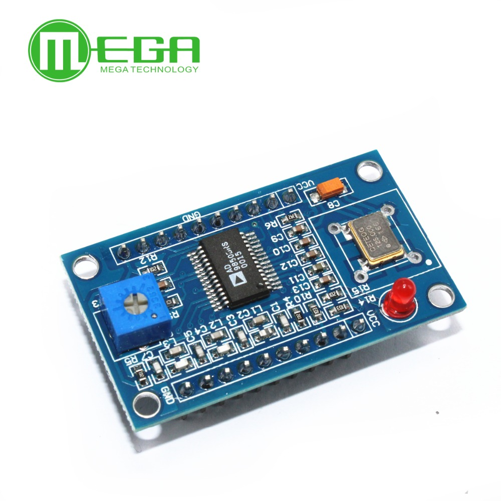 AD9850 DDS Signal Generator Module 0-40 mhz Attrezzatura di ProvaAD9850 DDS Signal Generator Module 0-40 mhz Attrezzatura di Prova