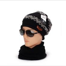 Skateboard Knitting Hat Winter Hat For Man Skullies  Warm Cap Man Hat High Quality Headgear Drop Shipping