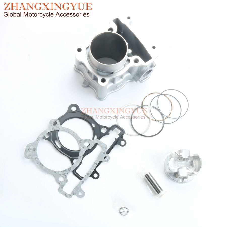US $8 81 |62mm Big Bore Cylinder Kit For Yamaha LC135 T135FI CRYPTON X  135cc 50C / 5YP E1311-in Pistons & Rings from Automobiles & Motorcycles on