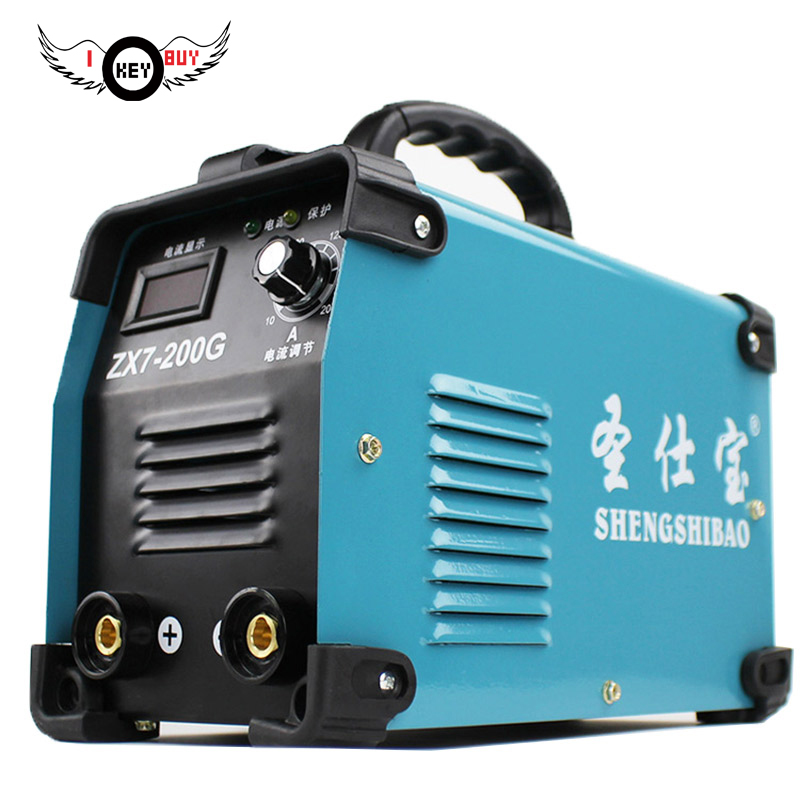 IGBT  Electric Cheapest Auto Welding Machine, Best Mini Portable MMA-200 ARC STICK Welders  Machines 2.5mm 3.0mm Electrod new high quality welding mma welder igbt zx7 200 dc inverter welding machine manual electric welding machine