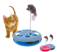 Cat Toy HOT Sale Petcrazy Amusement Wheel Cat Game Disk Cat S Favorite Toy