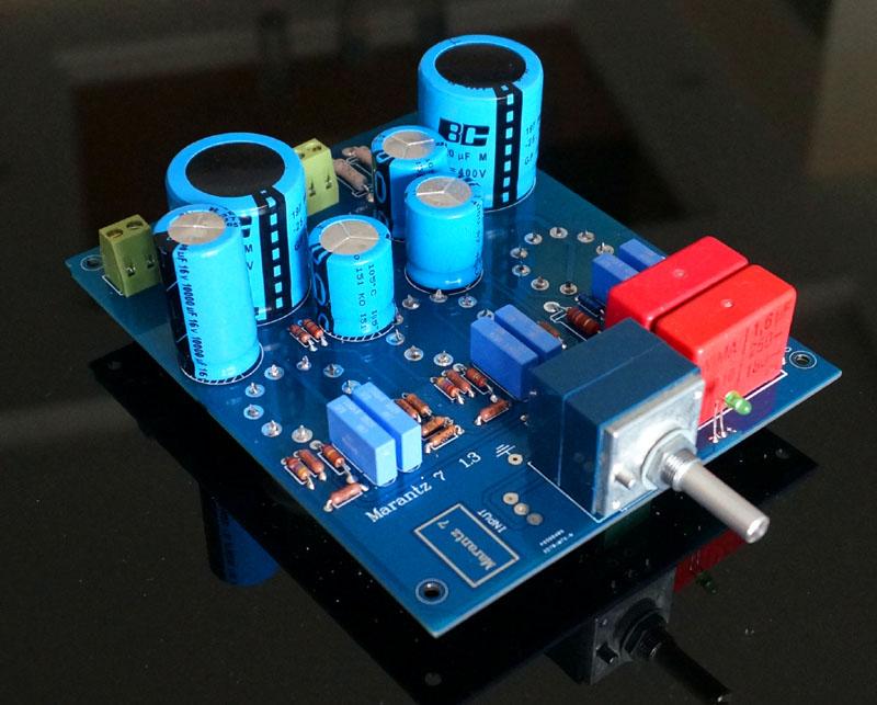 Marantz 7 tube amplifier kit preamplifier Imitation of the famous Marantz 7 MARANTZ classical circuit DIT