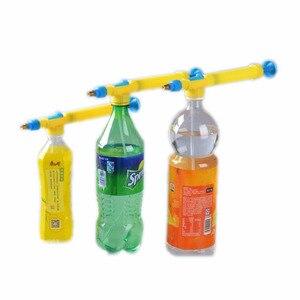 28.5cm Super Water Gun Adjustable Metal Sprayer Beverage Bottle Outdoor Funny Sports Toys Gun Multifunction Watering Flowers