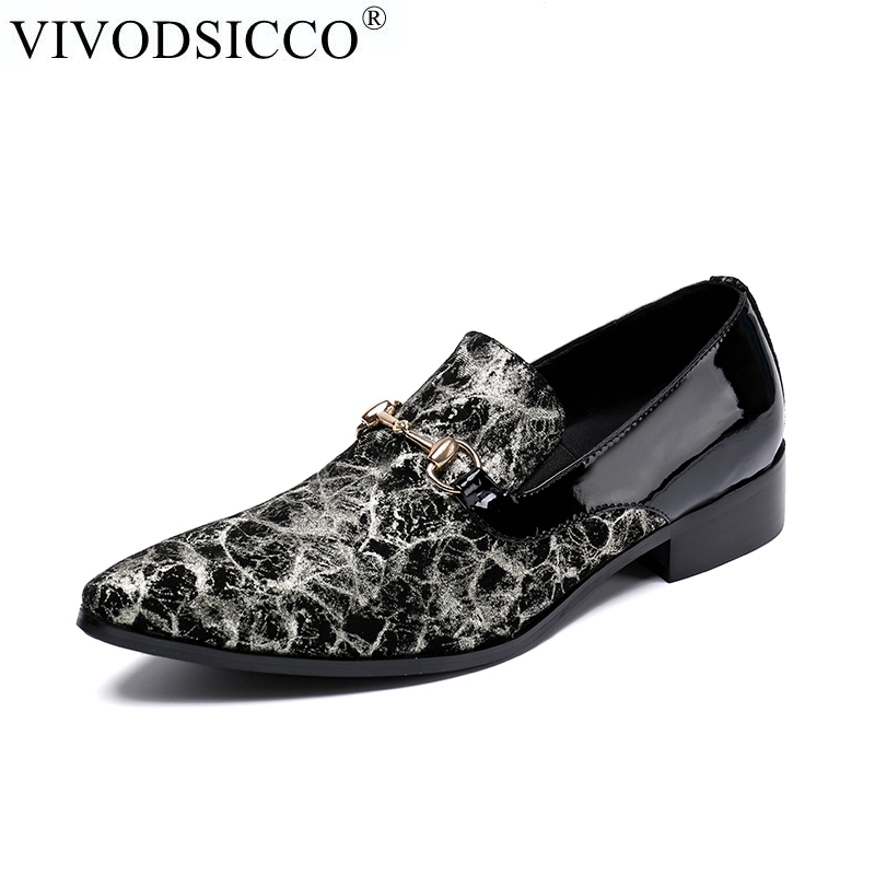 Casamento Se Genuíno Homens Vivodsicco Vestem Britânico Mocassin Oxford Couro Fino De Luxo Bico Sapatos Homme As Slip on Formais Pic IqI0zw