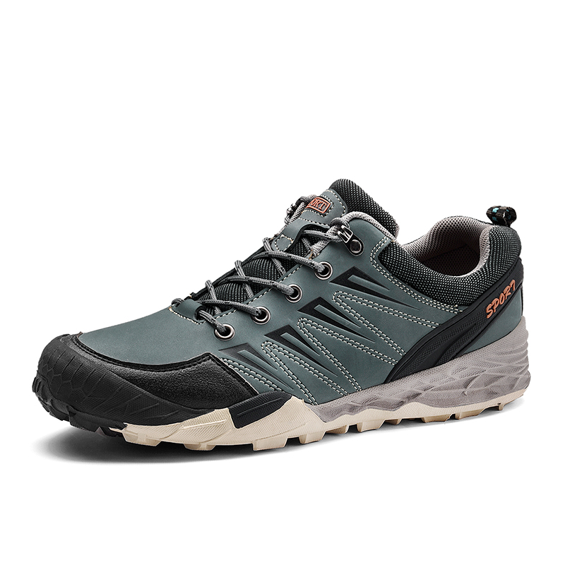 Men Hiking Shoes Outdoor Hiking Sneakers Athletic Sport Shoes Men Trekking Breathable Camping Climbing Low Cut Boots Shoes 35 цена