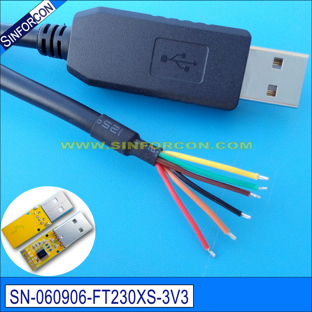 Delightful Colors And Exquisite Workmanship Novel Designs Self-Conscious Win8 10 Mac Android Linux Ftdi Ft230x Usb Uart Ttl 3.3v Flash Download Upload Program Cable For Plc Mcu Famous For Selected Materials