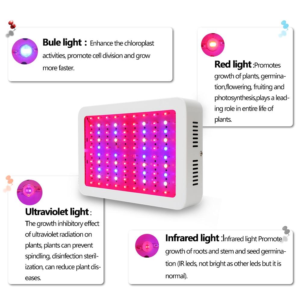 Full Spectrum LED Plant Grow Lights 32