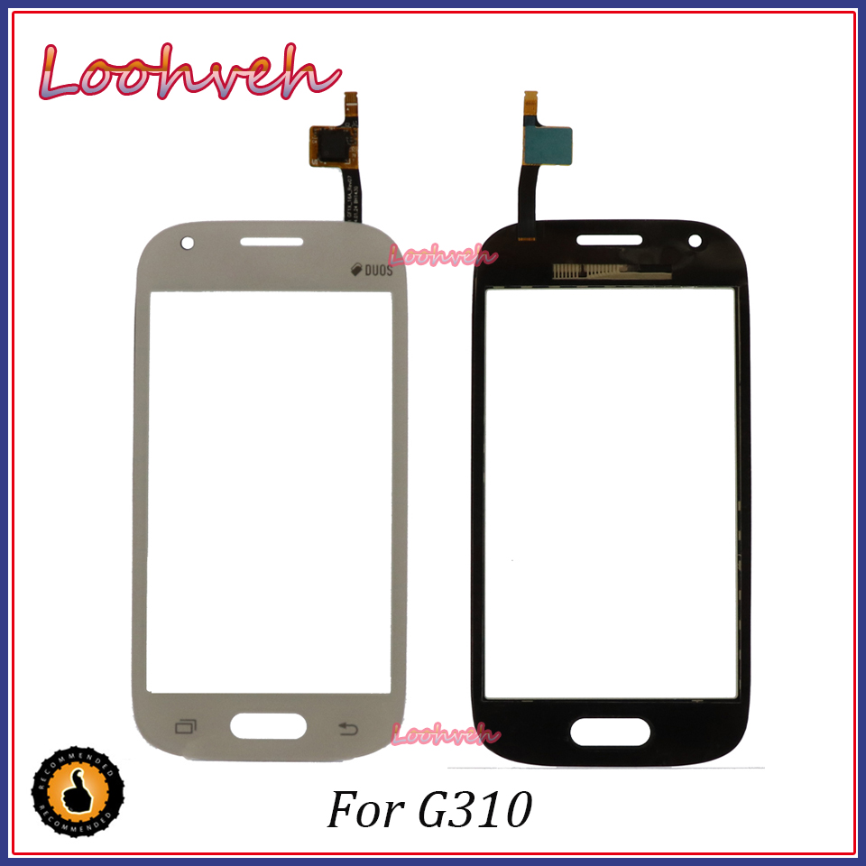 High Quality 4.0'' For <font><b>Samsung</b></font> Galaxy Ace Style SM-<font><b>G310</b></font> <font><b>G310</b></font> Touch Screen Digitizer Sensor Glass Lens Panel image