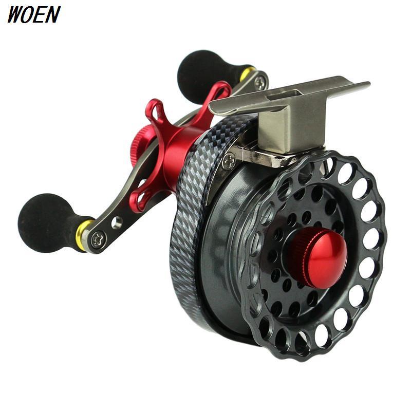 WOEN FAL65 Raft wheel Plastic cups line 4 + 1BB Micro lead wheel Speed ratio: 3.5: 1 CNC Metal rocker arm Fishing wheel