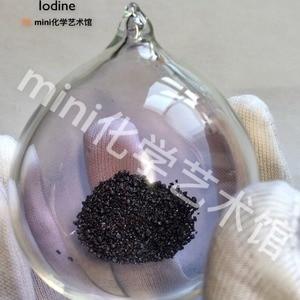 6cm Glass bottle element I Pur