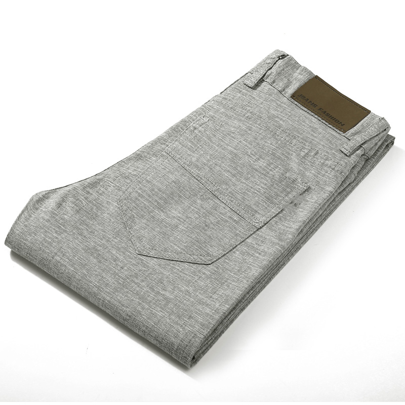 HCXY Brand 2019 Summer high quality Men s Linen Pants man Casual thin trousers Men pantalones HCXY Brand 2019 Summer high quality Men's Linen Pants man Casual thin trousers Men pantalones male pants Plus size 38
