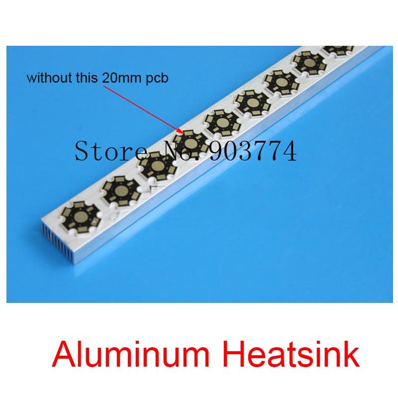5-7x3w 15w 18w 21w Aluminum Heatsink For High Power Led Aquarium Light 0.6 Meters Radiator Aluminum For Fish Tank Lights Diy