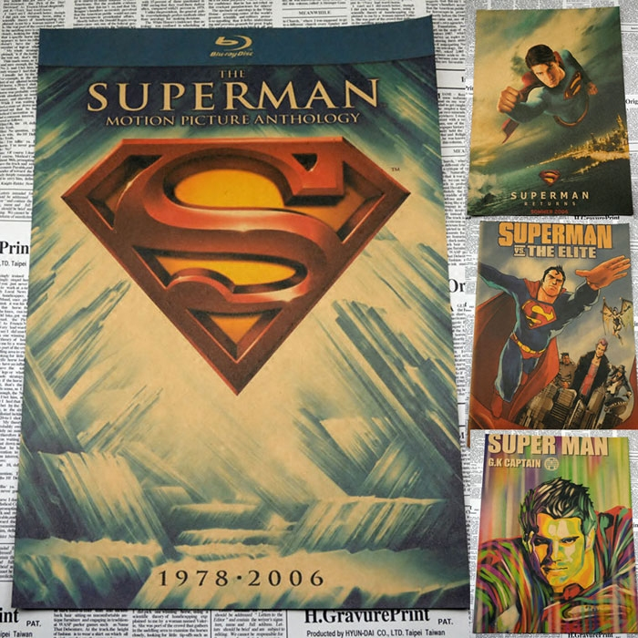 Vintage Paper Retro font b anime b font poster superman Posters kid cudi poster Vintage Home