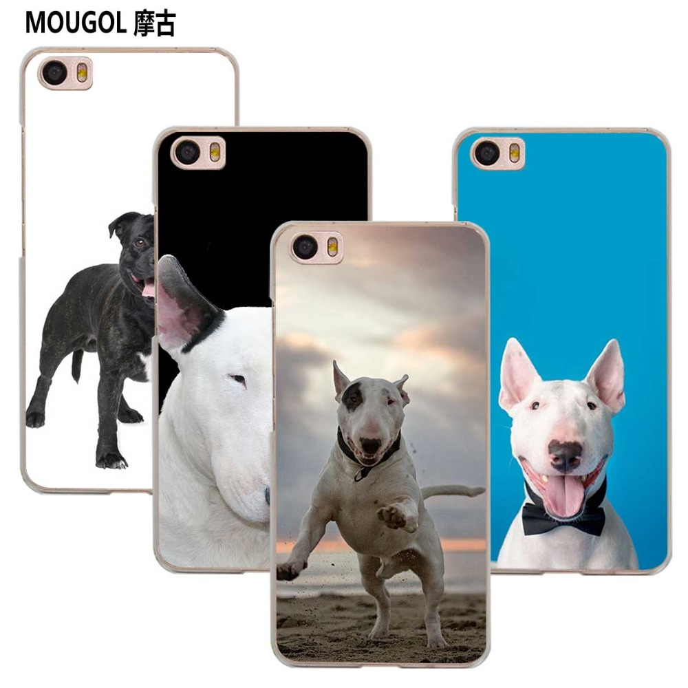 MOUGOL Bullterrier bull terrier transparent Case Cover Shell for Xiaomi Redmi Note MI A1 4X 5 5A 4 4A 3 Plus 5X