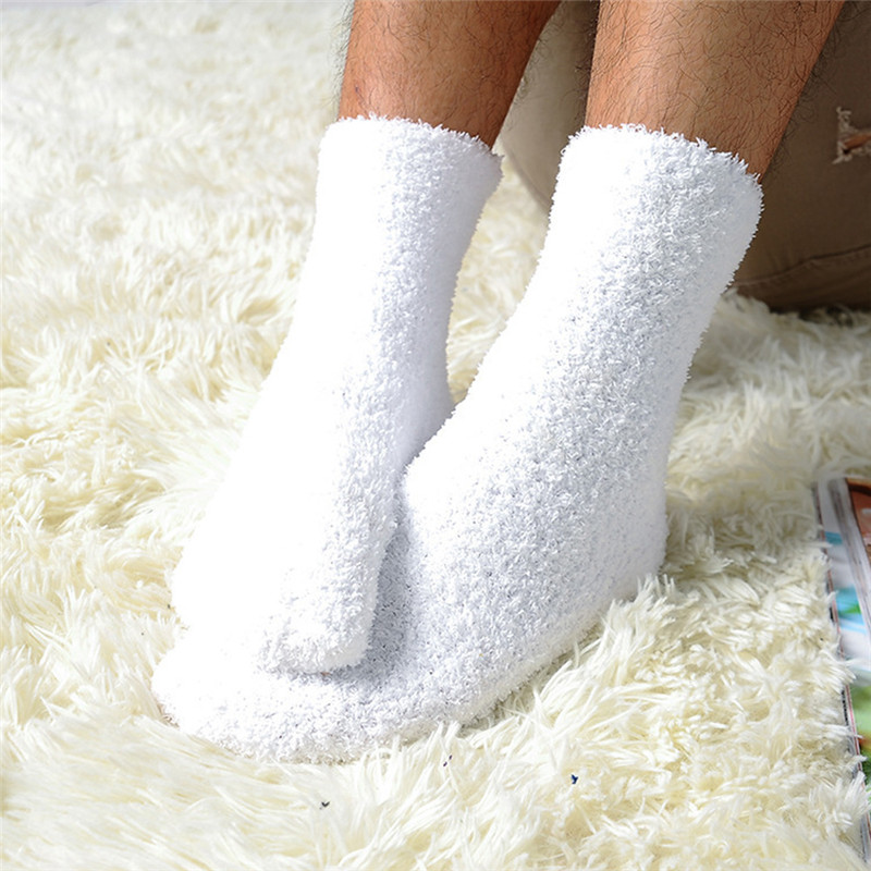 2019 Extremely Cozy Cashmere Socks Men Women Winter Warm Sleep Bed Floor Home Fluffy