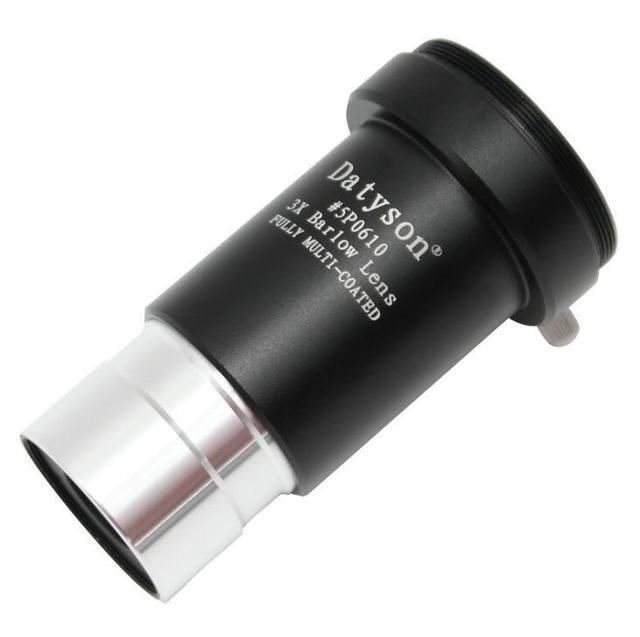 "Fast shipping Achromatic 3x Barlow Lens Standard 1.25""/31.7mm FMC Astro Telescope Eyepiece Camera Fit - M42"