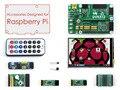 Módulo Pacote de Acessórios para Raspberry Pi Modelo A +/B +/2 B/3 B = 3.5 polegadas LCD RPi + DVK512 Development Board + módulos de Expansão