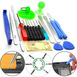 Mobile Phone Repair Tool Kit for iPhone SCREWDRIVER SET 21 in 1 Accessory Bundles