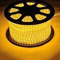 5050 1 M/2 M/5 M/10 M LLEVÓ la Tira Ligera 220 3.7vwaterproof Decoración Del Festival de Navidad brillo RGB Luz