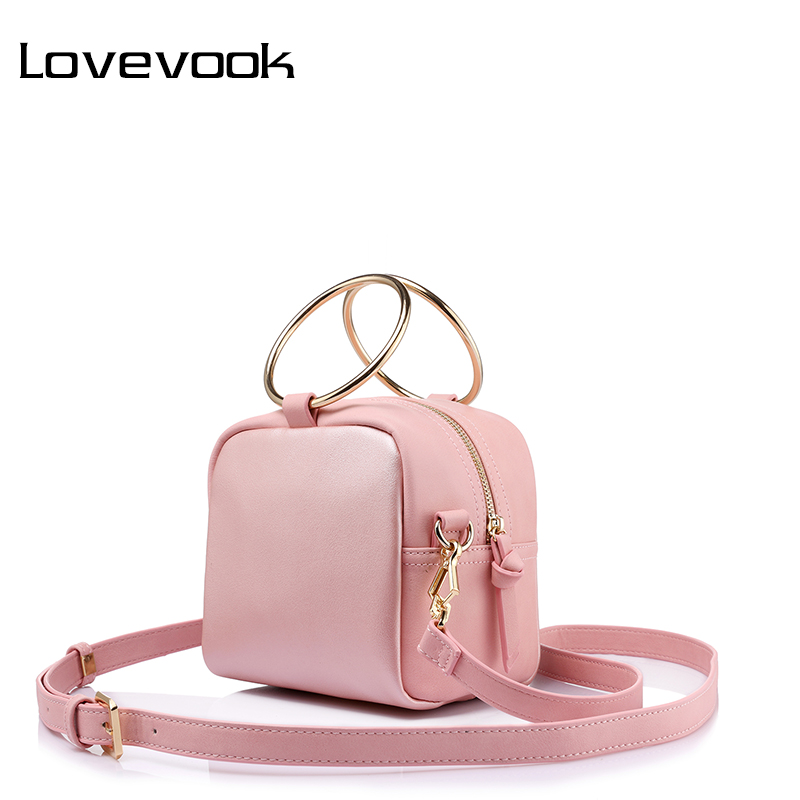 LOVEVOOK women shoulder crossbody bag ladies small messenger bags female handbags high quality metal ring Flap for women PU a1330 summer solid small flap bag ladies leather handbags women messenger bags female shoulder crossbody bag candy color sweet