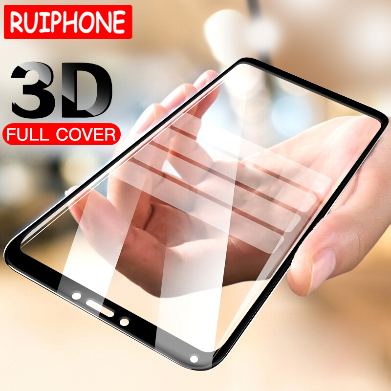 3D Full Cover Glass On The For Xiaomi Redmi 6A 6 Pro 4 Pro Screen Protector Protective Film For Xiaomi Redmi Note 4 4x 5A Glass(China)
