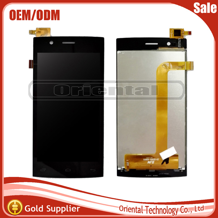 10 PCS Nice After-sale For Fly Nimbus 1 Fly FS451 FS 451 LCD Display+Touch Screen Digitizer Assembly High Quality Black Color