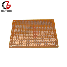 5Pcs Universal Protoboard 5x7cm DIY Prototype Paper PCB Board Printed Circuit Panel DIY for Arduino