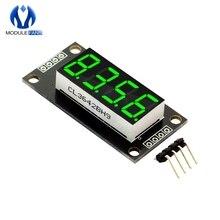 """Зеленый цвет 0,3"""" 0,36 дюймов TM1637 7 сегментов цифровой Дисплей трубка 4-разрядный светодиодный модуль для Arduino"""