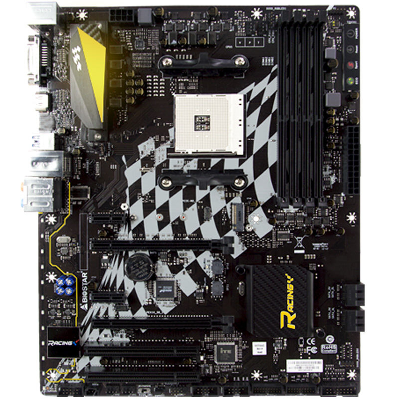 B350GT5 AM4 DDR4 Support for Raptors Ryzen 7 1700x