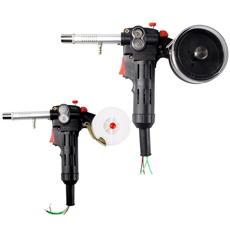Gorący sprzęt spawalniczy szpula podajnik Push-Pull aluminium miedź lub stal nierdzewna palnik do spawania linii silnika