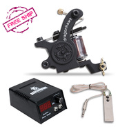 Free Shipping Cheapest Popular Top Quality Begginner Tattoo Machine Kit