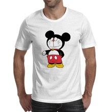 Cat Crossover Mouse T-shirt Brand Rock Skate T Shirt Punk Anime Funny Women Men Top