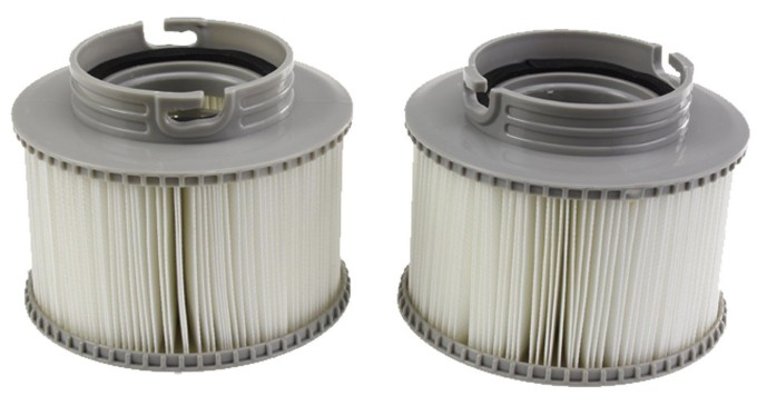 Promotion On Sale Pair Genuine MSpa Hot Tub Filter Cartridge 2 Pcs Fits Silver Cloud, Alpine
