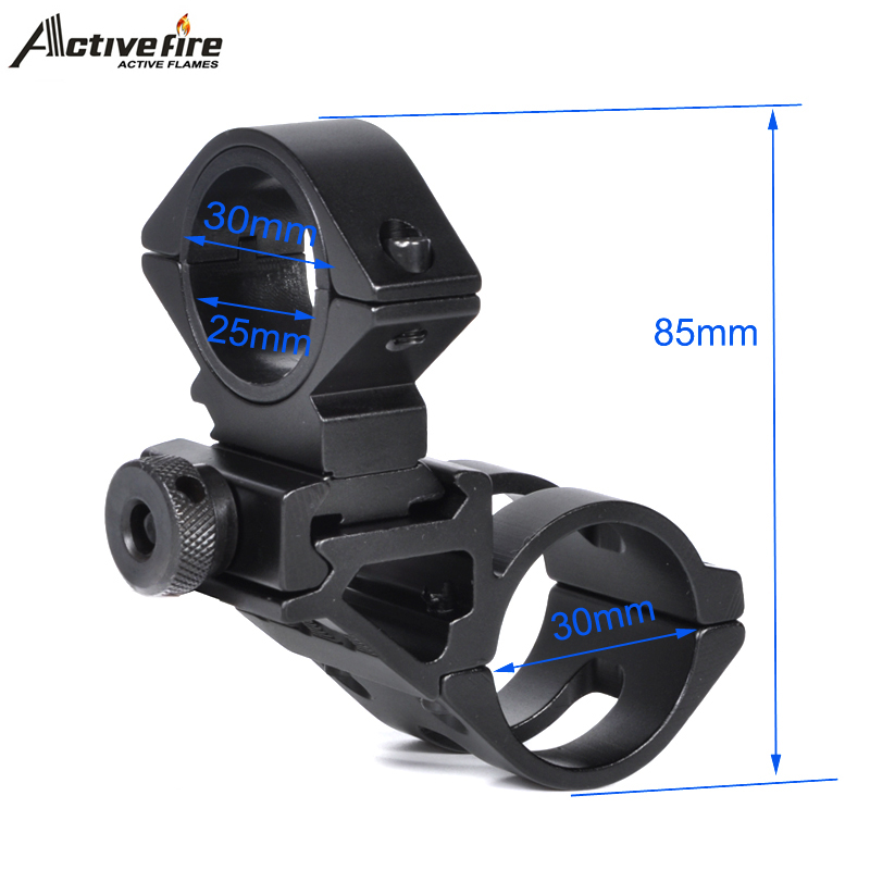 LED Torch Lamp Cycle Light Handle Bar <font><b>Handlebar</b></font> Bracket Stand Bicycle Grip Bike Mount Clamp Clip Holder With torch mount