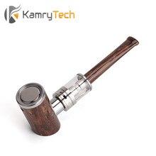 Kamry K1000บวกชุดบุหรี่อิเล็กทรอนิกส์1000มิลลิแอมป์ชั่วโมงE-Pipeชุดออกแบบไม้อีท่อสูบบุหรี่มอระกู่ปากกาไม้มอระกู่อิเล็กทรอนิกส์