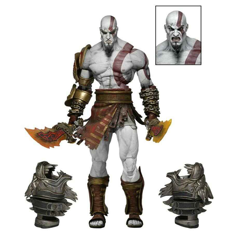 God of War 3 Ghost of Sparta Kratos PVC Action Figure Collectible Model Toy 22cm bride of the water god v 3