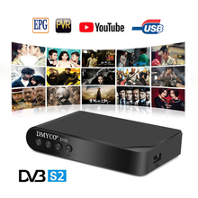 Satellite Receiver DVB-S2 HD Digital D1S TV Receiver Full HD 1080P Receptor D1S Support Clines Biss Key newcam Youtube Youporn