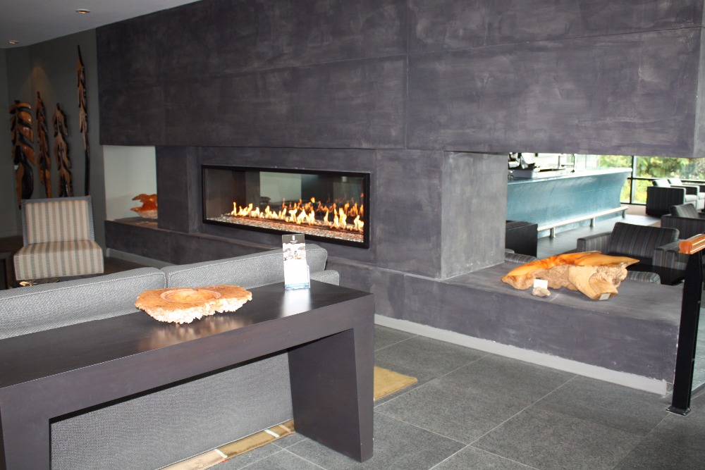 On Sale 60 Inch Smart Electric Fireplace With Ethanol Burners  16L