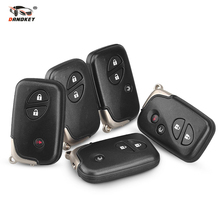 Dandkey Car Remote Key 2 3 4 Buttons For Lexus LX470 GS450h GS350 GS430 IS350 SC430 GS250 LX570 ES350 RX350 IS250 TOY48 Blade