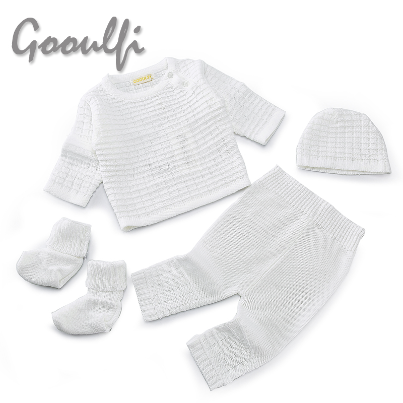 Gooulfi-Gooulfi-Baby-Girl-Boy-Set-Clothing-Sweater-4pcs-Pullover-Top-Pant-Cap-Booties-Knit-Newborn-With-Sock-Infant-Baby-Girls-1