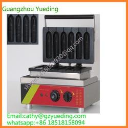 Electric corn dog waffle maker,muffin corn machine,commercial corn waffle maker