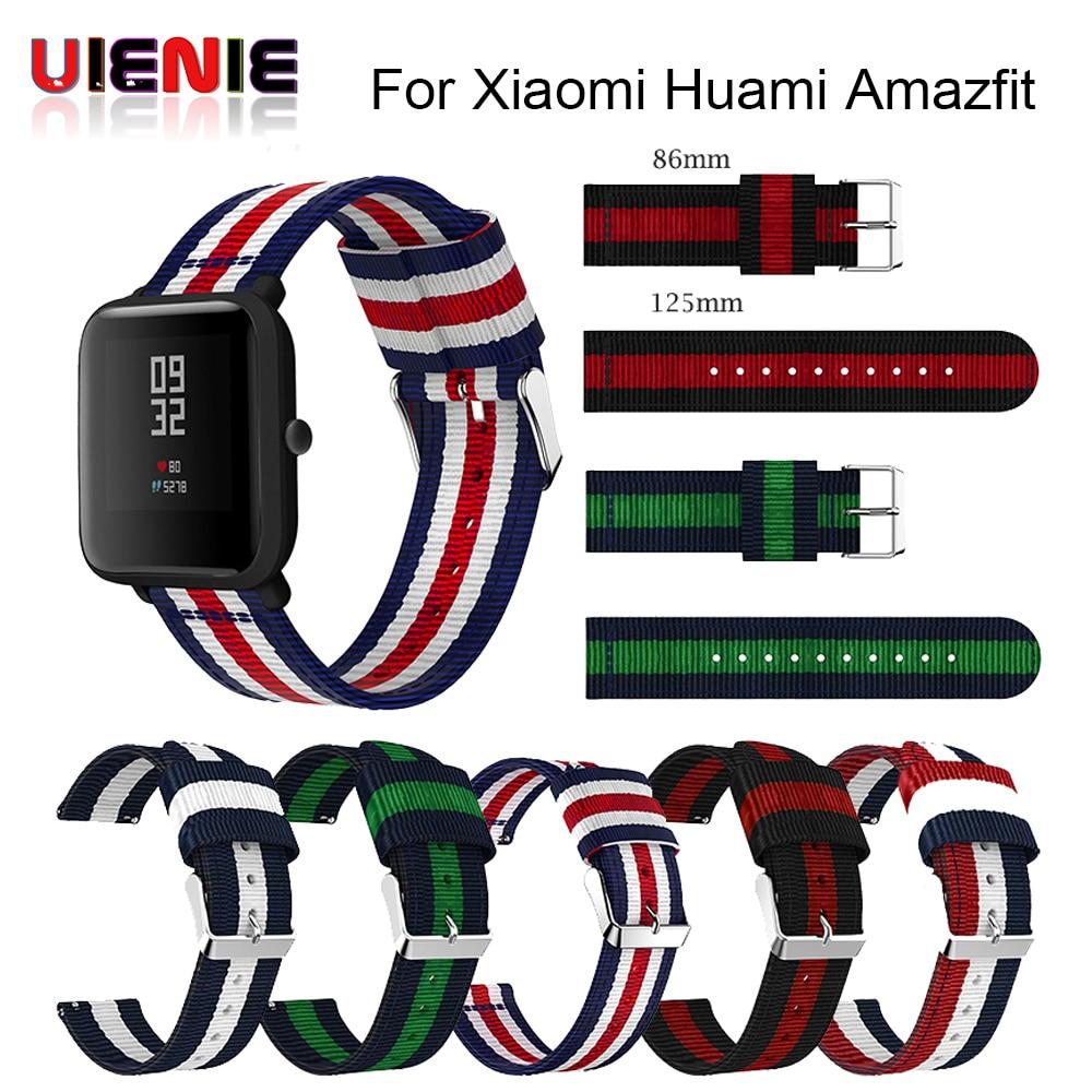 Nylon Band For Amazfit Bip Youth Watchband Replace For Xiaomi Huami Amazfit Band Bracelet For Huami Amazfit Bip Bit Wrist Strap