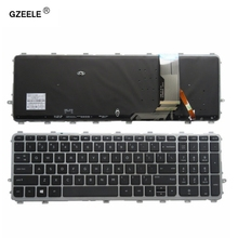 Клавиатура GZEELE с подсветкой для ноутбука HP ENVY 15 J 17 J 720244 001 711505 001 736685 001 6037B0093301 V140626AS2, новая