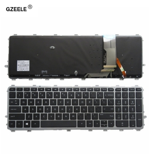 Image 1 - GZEELE New for HP ENVY 15 J 17 J 720244 001 711505 001 736685 001 6037B0093301 V140626AS2 laptop US keyboard backlit