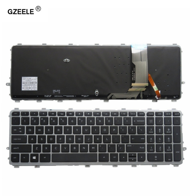 GZEELE New for HP ENVY 15 J 17 J 720244 001 711505 001 736685 001 6037B0093301 V140626AS2 laptop US keyboard backlit