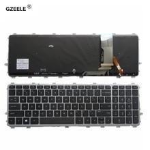 GZEELE novità per HP ENVY 15 J 17 J 720244 001 711505 001 736685 001 6037B0093301 V140626AS2 laptop US tastiera retroilluminata