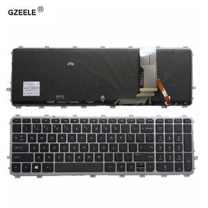 Image 1 - を hp 羨望 15 J gzeele 17 J 720244 001 711505 001 736685 001 6037B0093301 V140626AS2 ラップトップの米国キーボードバックライト