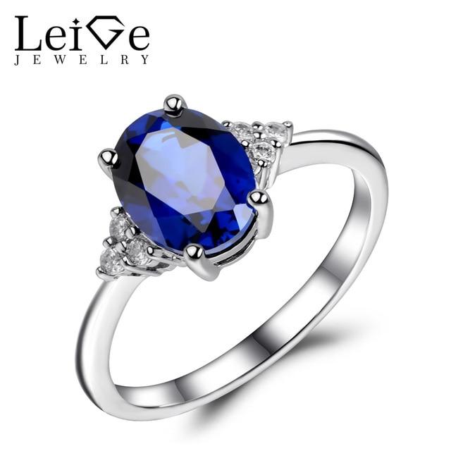 jewelry oval sapphire