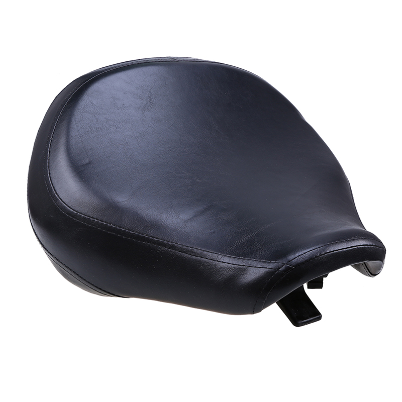 Leather PU Motorcycle Cafe Racer Seat Cover For SUZUKI VL400/800 01-12 Motorcycle Front Seat Bobber Sportster Seat Motorcross